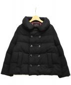 tricot COMME des GARCONS(トリコ コムデギャルソン)の古着「丸襟ダウンジャケット」 ブラック