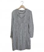marimekko(マリメッコ)の古着「プリントワンピース」|ブラック