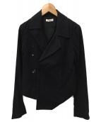 HELMUT LANG(ヘルムートラング)の古着「ライダースジャケット」|ブラック