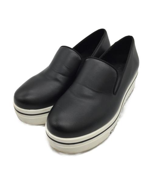 STELLA McCARTNEY(ステラ・マッカートニー)STELLA McCARTNEY (ステラ・マッカートニー) スリッポン ブラック サイズ:SIZE 35の古着・服飾アイテム