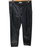 ()の古着「タックデニムパンツ」|インディゴ