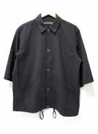 HAVERSACK(ハーバーサック)の古着「7分丈シャツジャケット」|グレー
