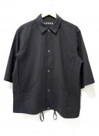 HAVERSACK()の古着「7分丈シャツジャケット」|グレー