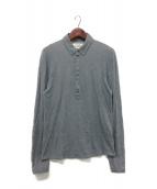 Martin Margiela14(マルタンマルジェラ14)の古着「長袖ポロシャツ」|グレー