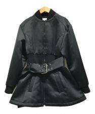 VERSUS VERSACE (ヴェルサス ヴェルサーチ) コート ブラック サイズ:42