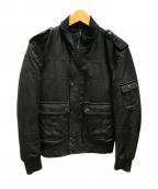 blackbarrett(ブラックバレット)の古着「ジャケット」 ブラック