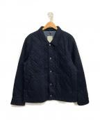 GAP(ギャップ)の古着「キルティングジャケット」|ネイビー