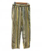 CABAN(キャバン)の古着「マルチストライプイージーパンツ」