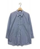 STATESIDE(ステートサイド)の古着「ステートサイドストライプシャツ」 ブルー