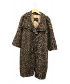 MAX&Co.(マックスアンドコー)の古着「5分袖コート」|ブラック