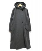DRESSTERIOR(ドレステリア)の古着「2Wayミドルウールコート」 グレー