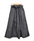 SOFIE DHOORE(ソフィードール)の古着「デニムスカート」|インディゴ