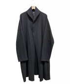 syte(サイト)の古着「ウールジャージーロングカーディガン」 ブラック