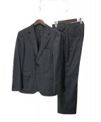 uniform experiment(ユニフォームエクスペリメント)の古着「REDA HOUNDS TOOTH CHECK WOOL 2」|グレー
