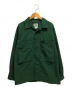 GRAMICCI()の古着「ナイロンジャケット シャツ」 グリーン