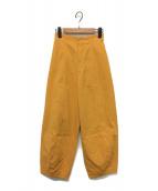 nagonstans(ナゴンスタンス)の古着「コクーンパンツ」|ライトオレンジ