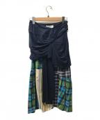 ENFOLD()の古着「スカート」|ネイビー