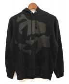 GROUND Y(グラウンドワイ)の古着「プルオーバーパーカー」|ブラック