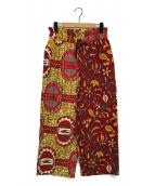 AYAYA(アヤヤ)の古着「アフリカンテキスタイルパンツ」