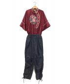ahcahcum(アチャチュム)の古着「ドッキングオールインワン」
