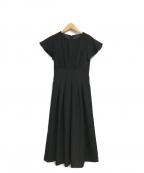 EMMEL REFINES(エメル リファインズ)の古着「フレアワンピース」|ブラック