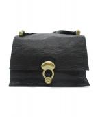TOFF&LOADSTONE(トフアンドロードストーン)の古着「ショルダーバッグ」 ブラック