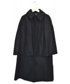 allureville(アルアバイル)の古着「ケープコート」|ブラック