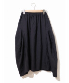 COMME des GARCONS COMME des GARCONS(コムデギャルソンコムデギャルソン)の古着「パネルバルーンスカート」|ダークネイビー