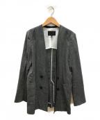 icB(アイシービー)の古着「Linen Kerseyジャケット」