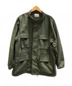 MONKEY TIME(モンキータイム)の古着「ミリタリージャケット」|オリーブ
