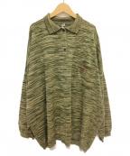 LOEWE(ロエベ)の古着「ポロネックセーター」|グリーン