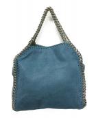 STELLA McCARTNEY(ステラ・マッカートニー)の古着「チェーンショルダー2WAYバッグ」|ブルー