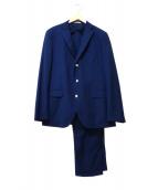 BOGLIOLI(ボリオリ)の古着「3Bセットアップスーツ」|ネイビー