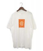 ANTI SOCIAL SOCIAL CLUB(アンチソーシャルソーシャルクラブ)の古着「プリントTシャツ」|ホワイト×レッド
