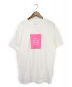 ANTI SOCIAL SOCIAL CLUB(アンチソーシャルソーシャルクラブ)の古着「プリントTシャツ」|ホワイト×ピンク