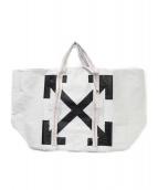 OFFWHITE(オフホワイト)の古着「ARROWS  TOTE BAG」|ホワイト