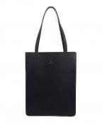 GLENROYAL(グレンロイヤル)の古着「レザートートバッグ」 ブラック