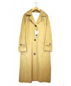 HUMAN WOMAN(ヒューマンウーマン)の古着「サイロギャバコート」 ベージュ