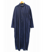 TICCA(ティッカ)の古着「シャツワンピース」|ブルー