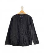 FAT(エフエーティー)の古着「ノーカラージャケット」 ブラック
