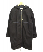 MARNI(マルニ)の古着「フーデッドコート」|ブラック