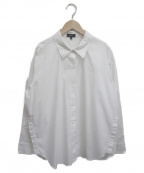 theory()の古着「オーバーサイズシャツ」|オフホワイト