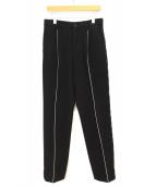 Yohji Yamamoto pour homme(ヨウジヤマモトプールオム)の古着「ウールパンツ」|ブラック