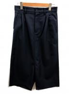 COMME des GARCONS SHIRT(コムデギャルソンシャツ)の古着「ワイドパンツ」 ネイビー