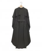 AKIRA NAKA(アキラナカ)の古着「ワンピース」|ブラック