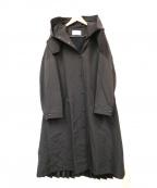 REKISAMI(レキサミ)の古着「バックプリーツコート」|ブラック