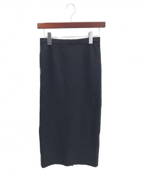 Pan(パン)Pan (パン) タイトスカート ブラック サイズ:34の古着・服飾アイテム