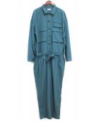 toironier(トワロニエ)の古着「20SS ジャンプスーツ(オールインワン)」|グリーン