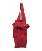 HOMIC(ホーミック)の古着「ロングストラップビッグバッグ」|レッド