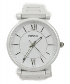 FOSSIL(フォッシル)の古着「リストウォッチ」|ホワイト